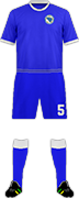 Kit BOSNIA NATIONAL FOOTBALL TEAM