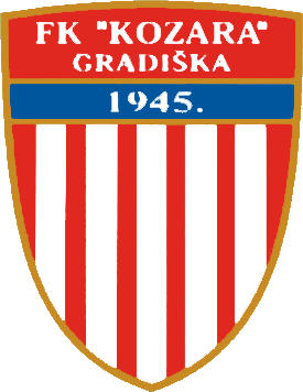 Logo of FK KOZARA GRADISKA (BOSNIA)