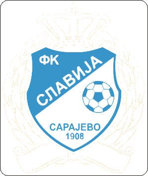 Logo of FK SLAVIJA SARAJEVO (BOSNIA)