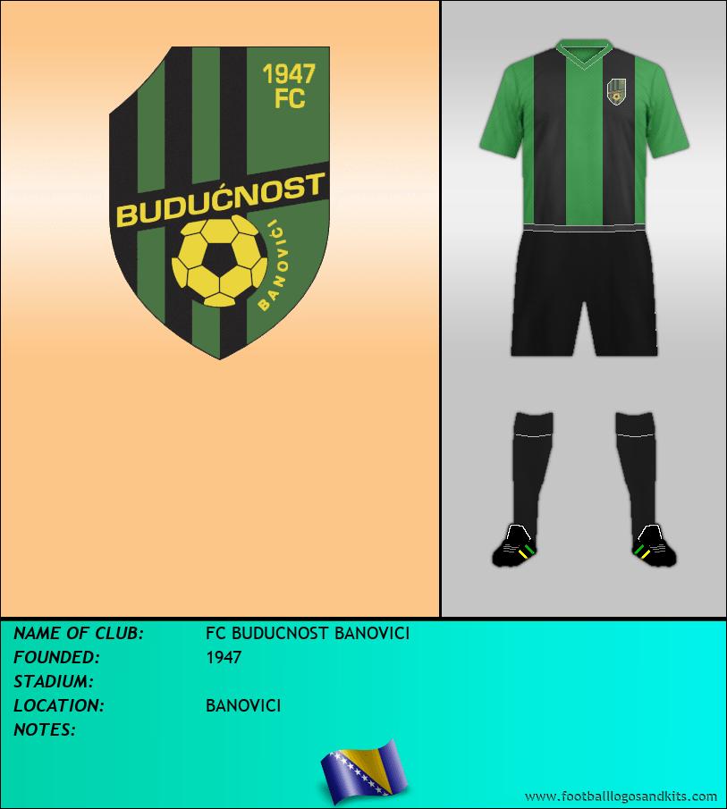 Logo of FC BUDUCNOST BANOVICI