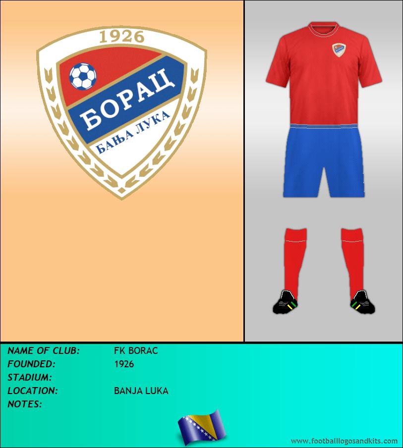 Logo of FK BORAC