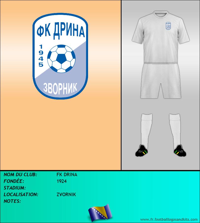 Logo de FK DRINA