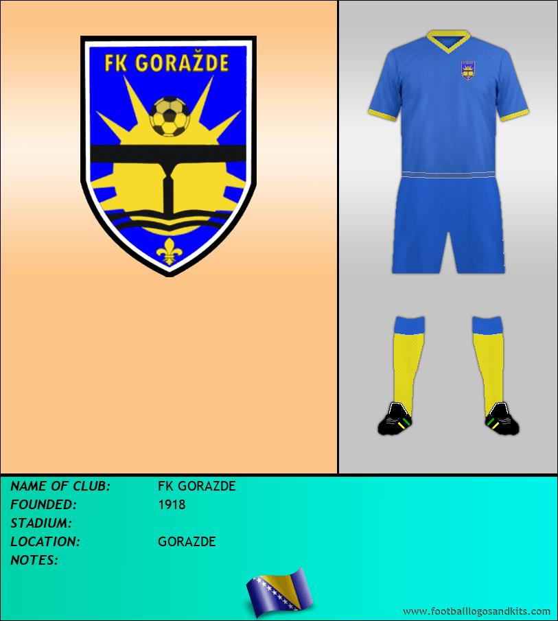 Logo of FK GORAZDE