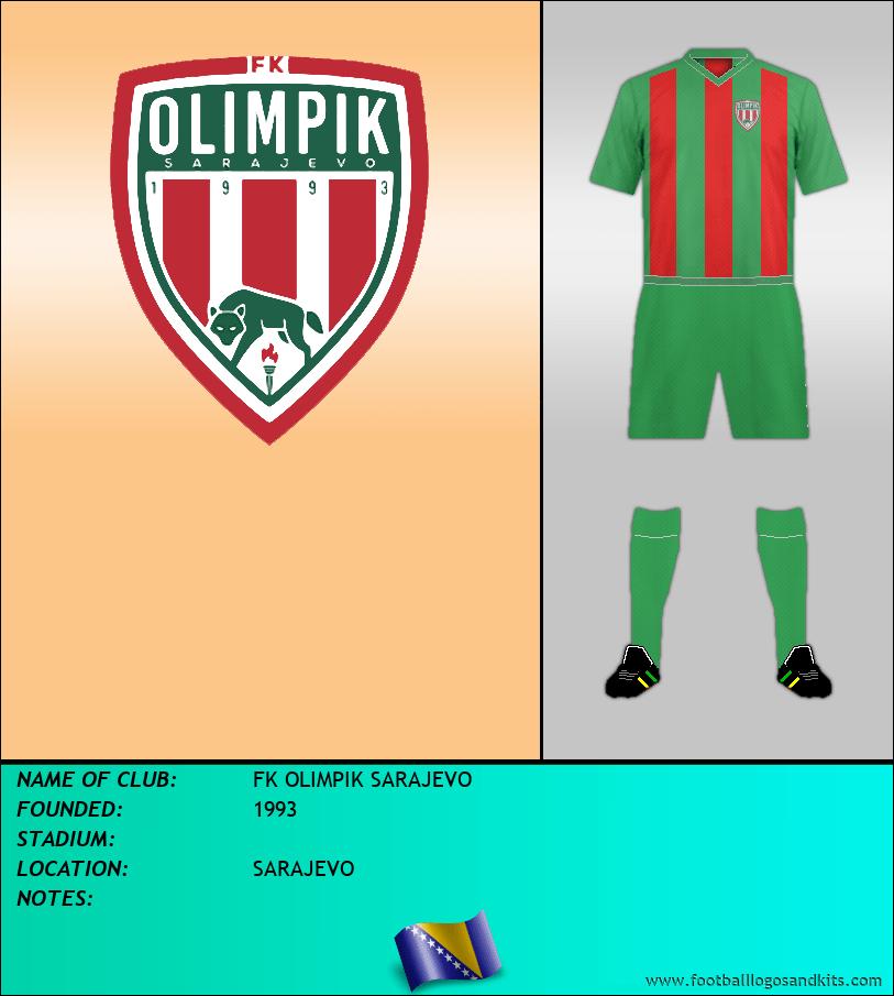 Logo of FK OLIMPIK SARAJEVO
