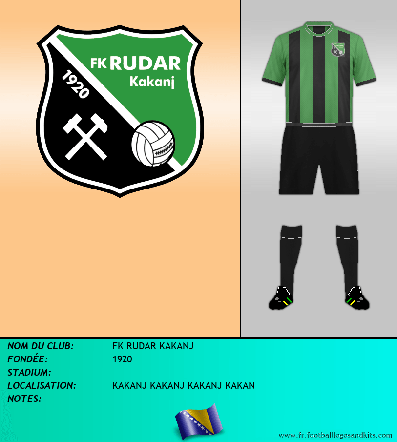 Logo de FK RUDAR KAKANJ