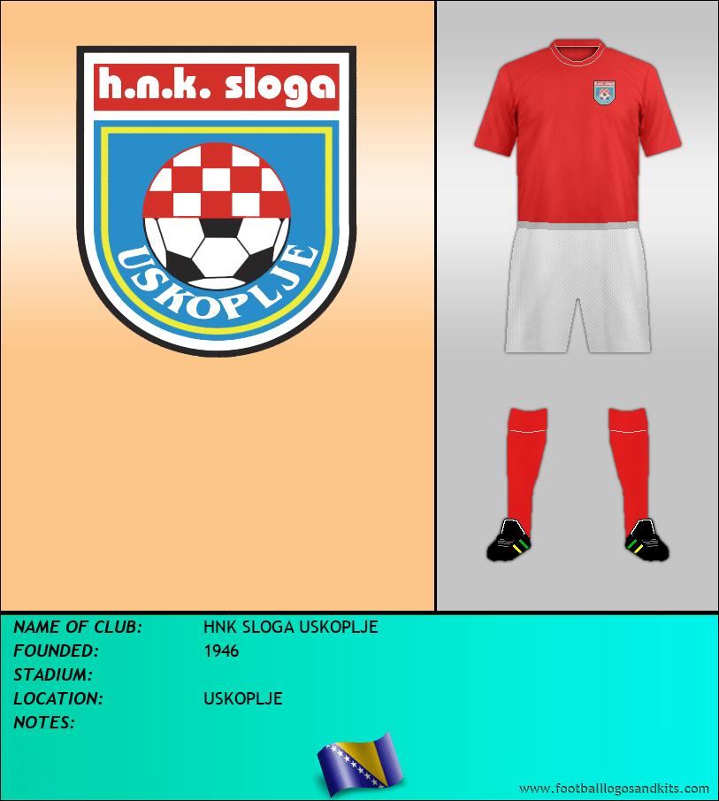 Logo of HNK SLOGA USKOPLJE