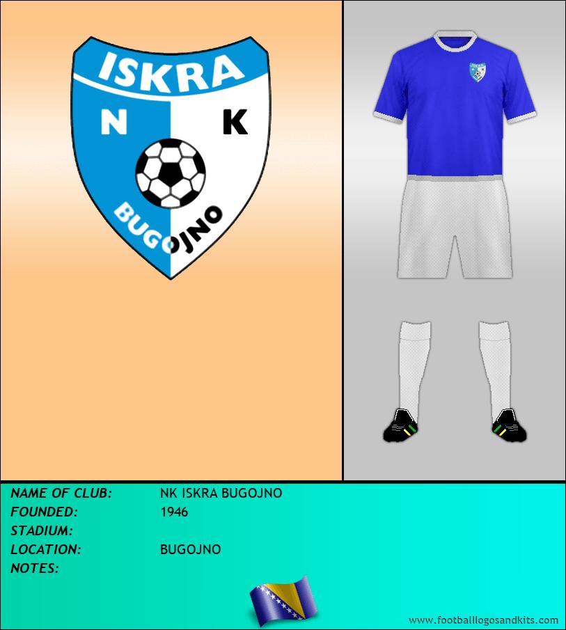 Logo of NK ISKRA BUGOJNO