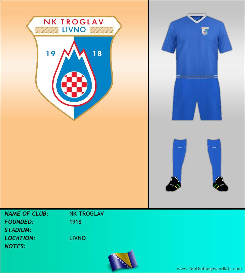 Logo of NK TROGLAV