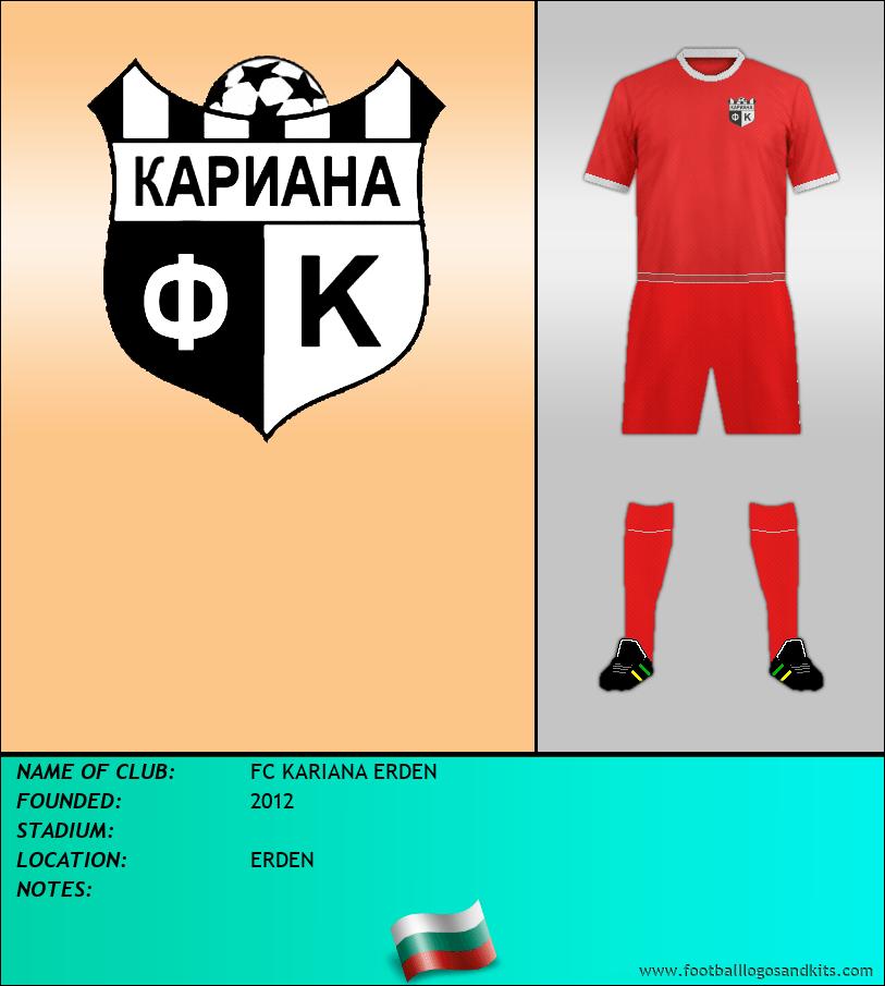 Logo of FC KARIANA ERDEN