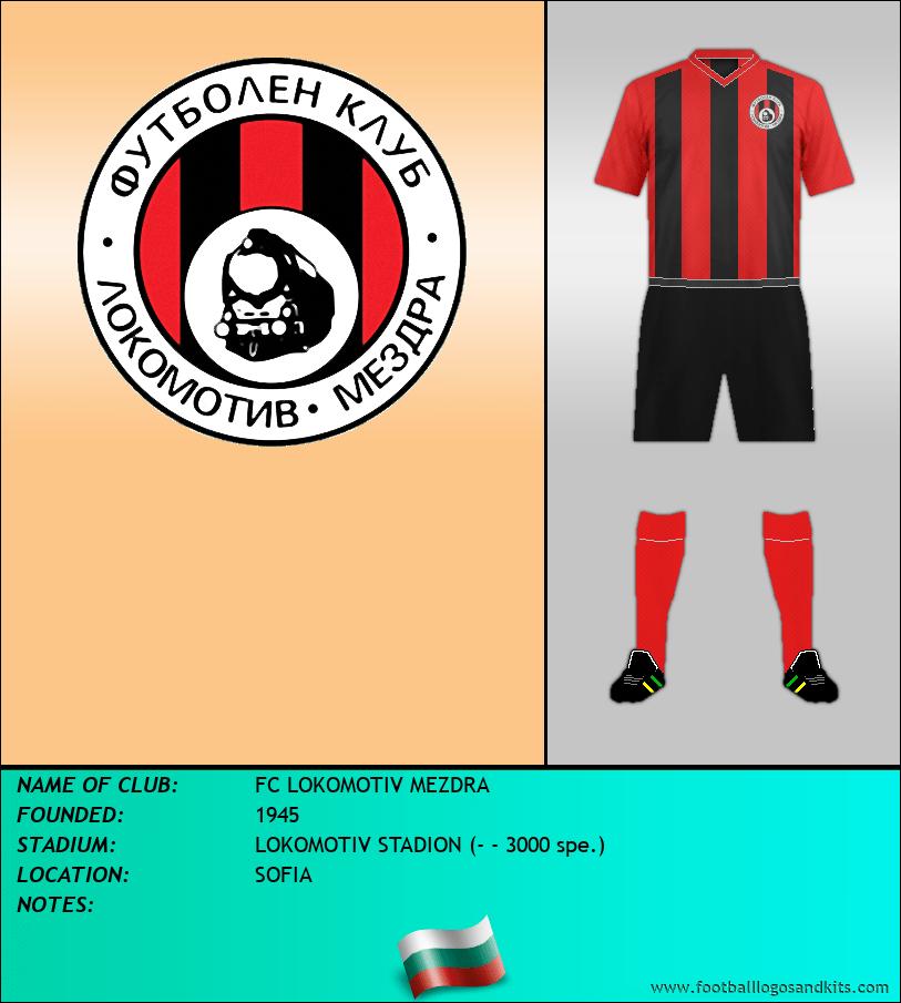 Logo of FC LOKOMOTIV MEZDRA