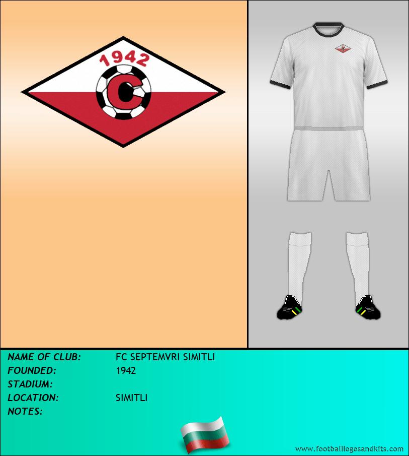 Logo of FC SEPTEMVRI SIMITLI