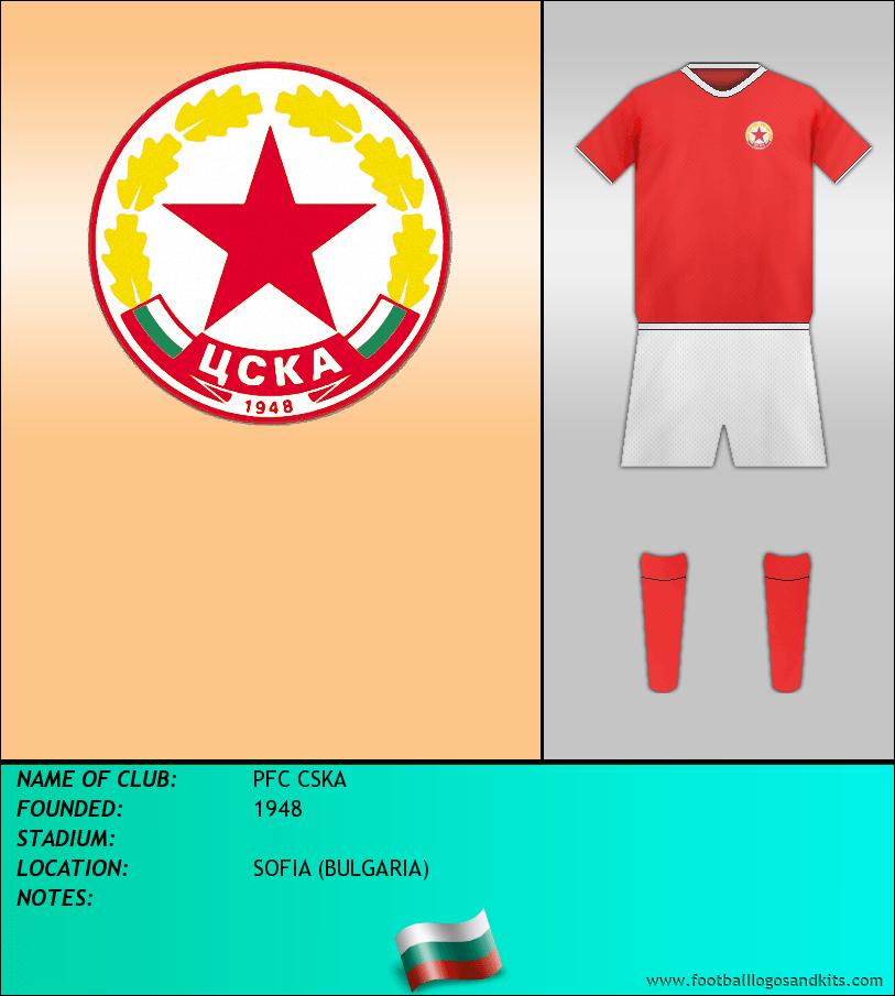Logo of PFC CSKA