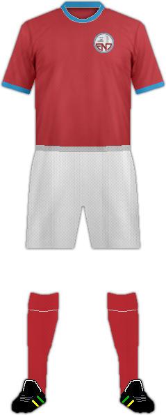Kit ENOSIS NEON PARALIMNI FC