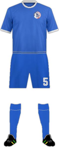 Kit CYPRUS NATIONAL FOOTBALL TEAM