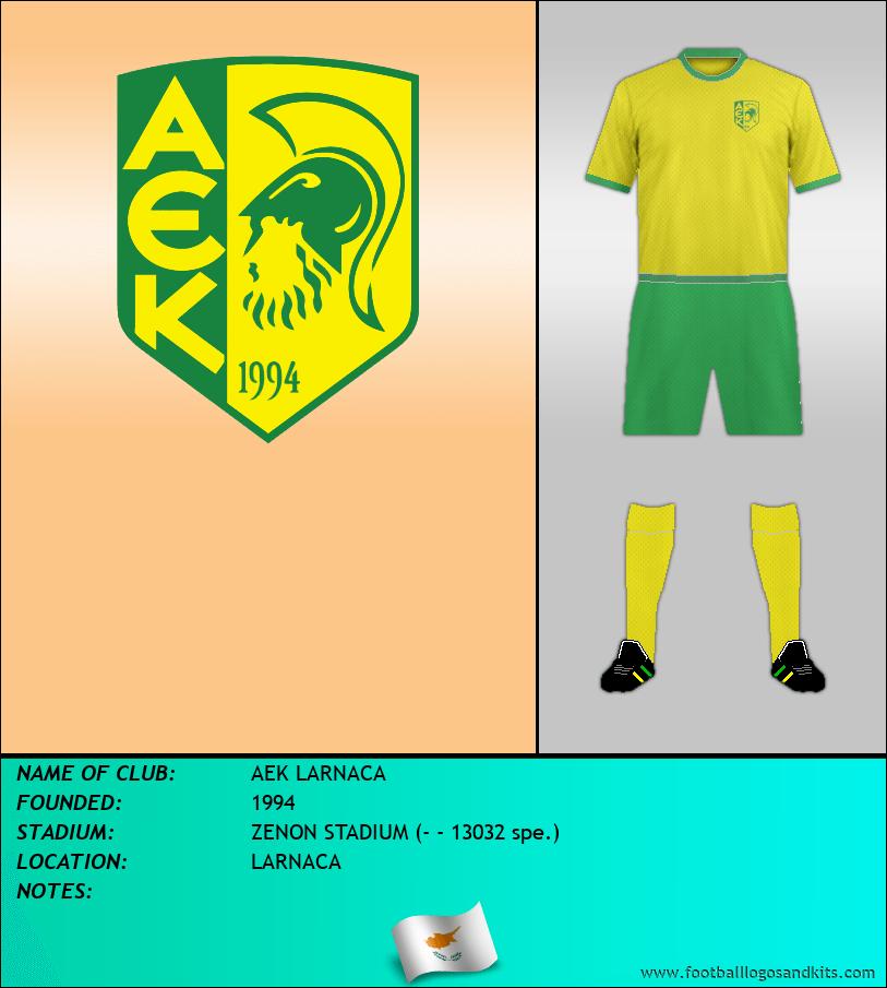 Logo of AEK LARNACA