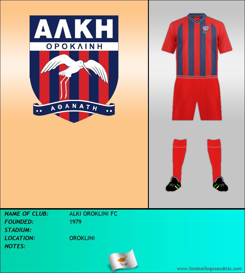 Logo of ALKI OROKLINI FC