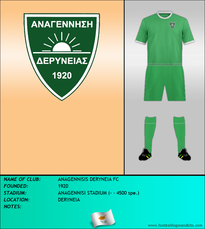 Logo of ANAGENNISIS DERYNEIA FC