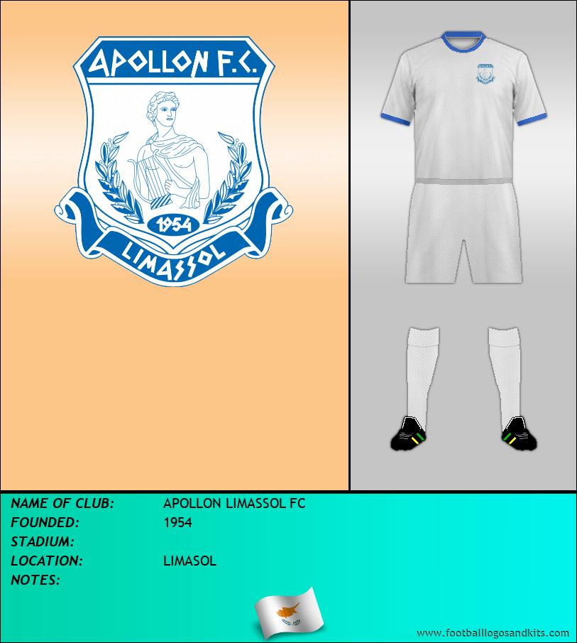 Logo of APOLLON LIMASSOL FC