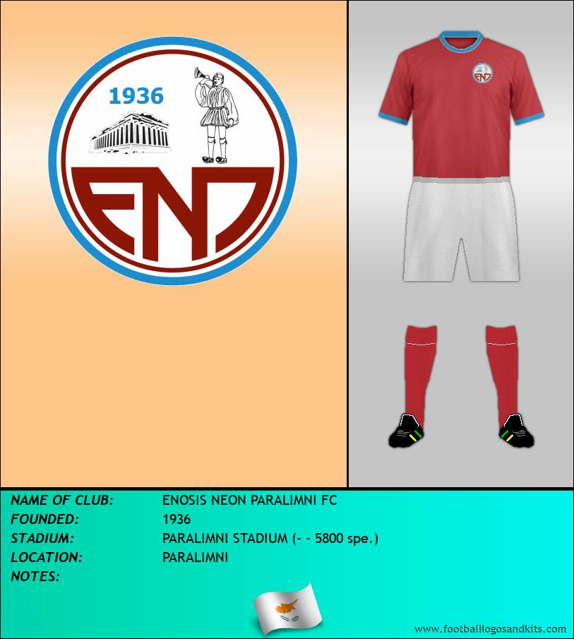 Logo of ENOSIS NEON PARALIMNI FC