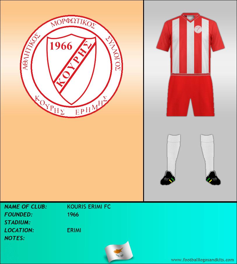 Logo of KOURIS ERIMI FC