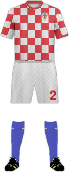 Kit CROATIA NATIONAL FOOTBALL TEAM