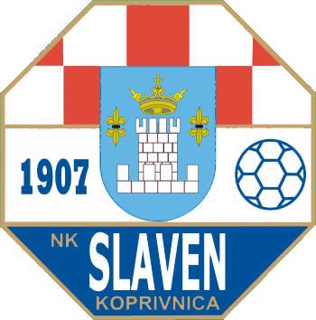 のロゴNKスラヴェン (クロアチア)