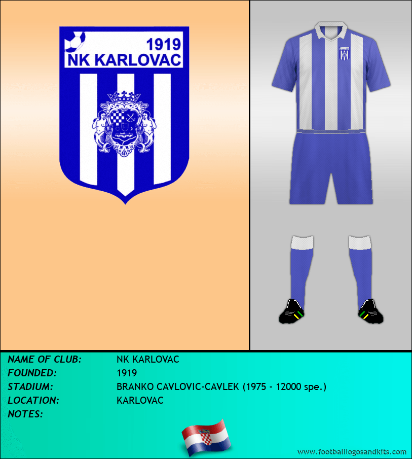 Logo of NK KARLOVAC