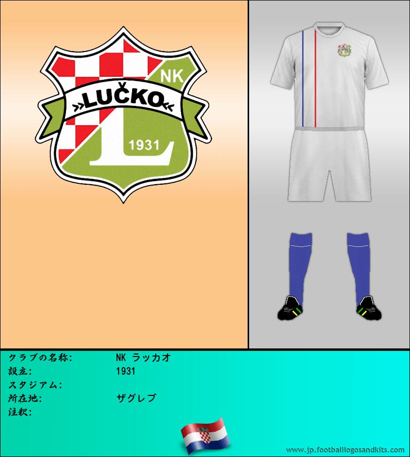 のロゴNK LUCKO