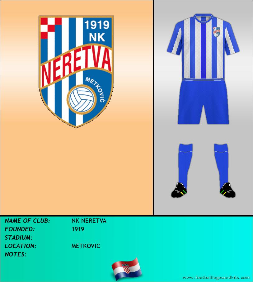 Logo of NK NERETVA