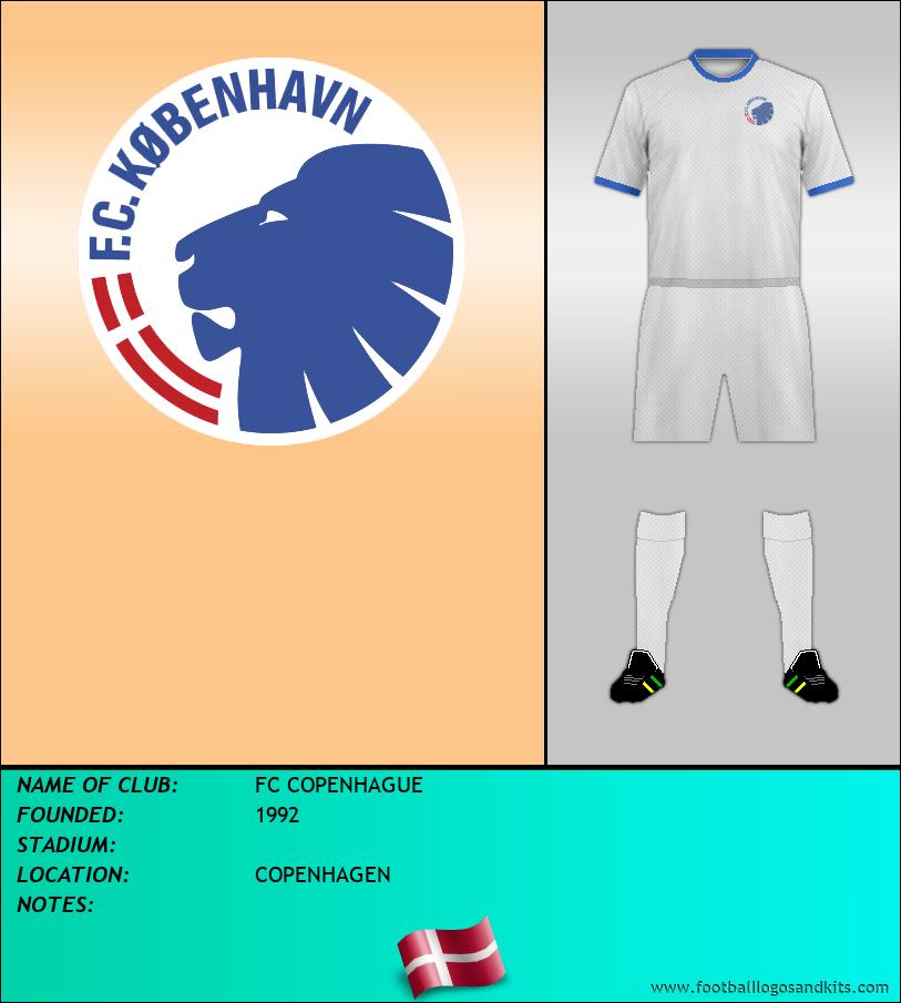 Logo of FC COPENHAGUE