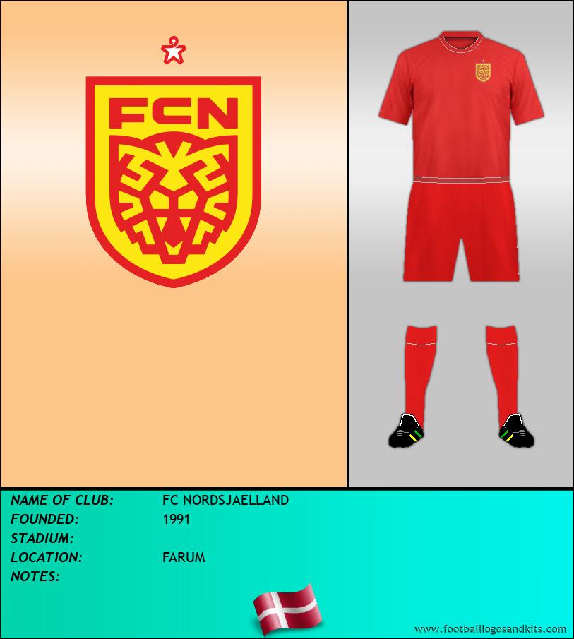 Logo of FC NORDSJAELLAND