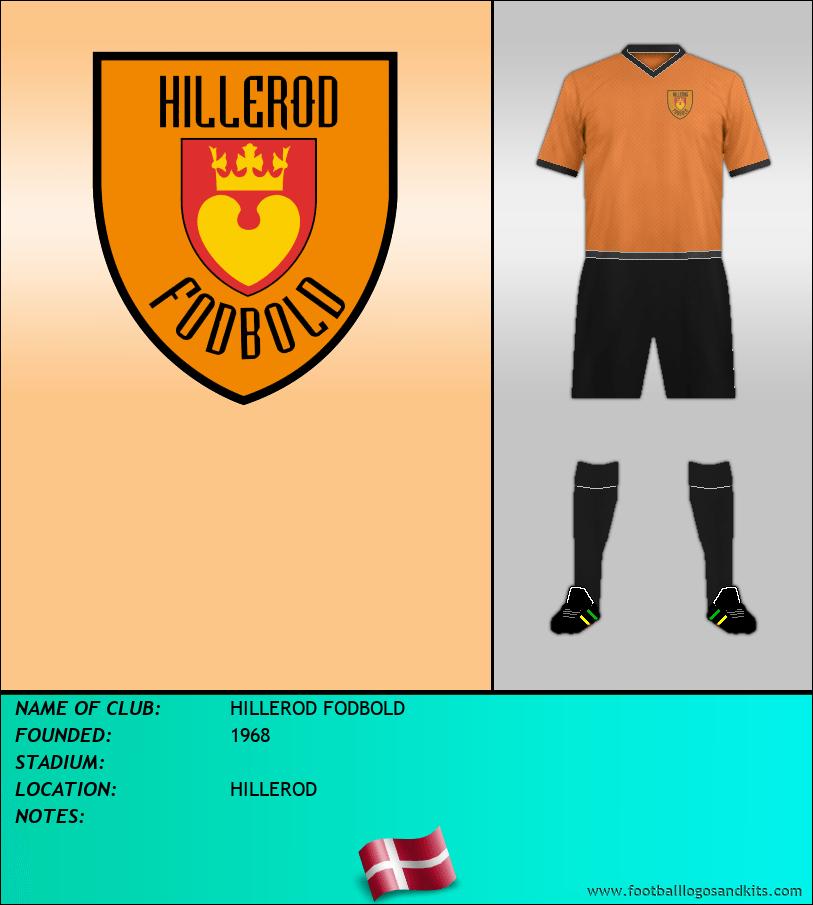 Logo of HILLEROD FODBOLD