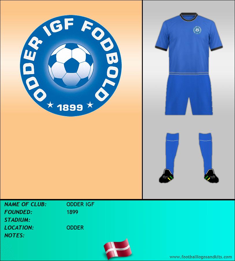 Logo of ODDER IGF
