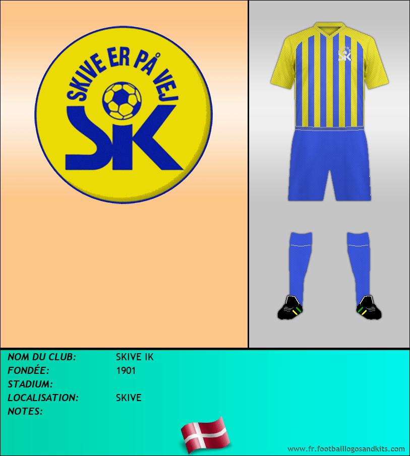 Logo de SKIVE IK