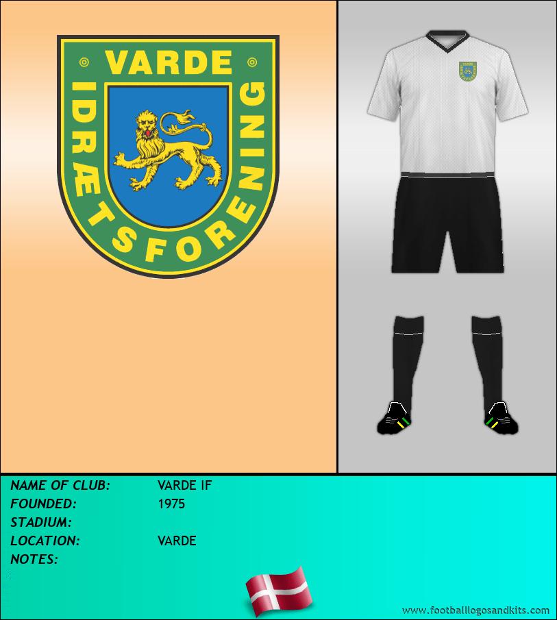 Logo of VARDE IF