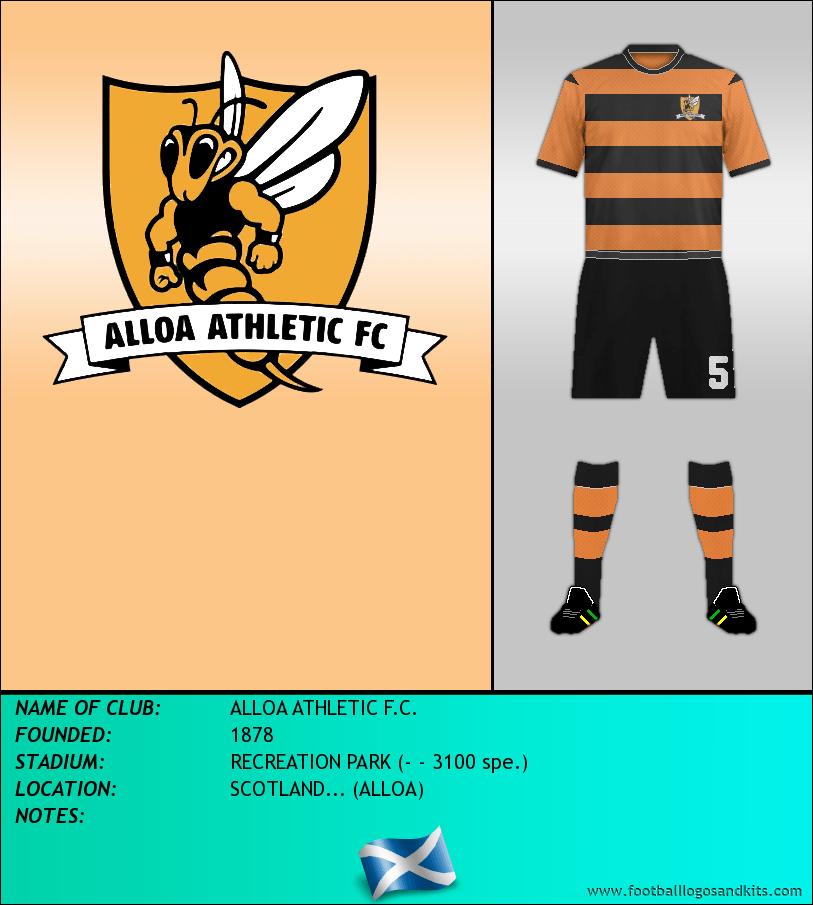 Logo of ALLOA ATHLETIC F.C.