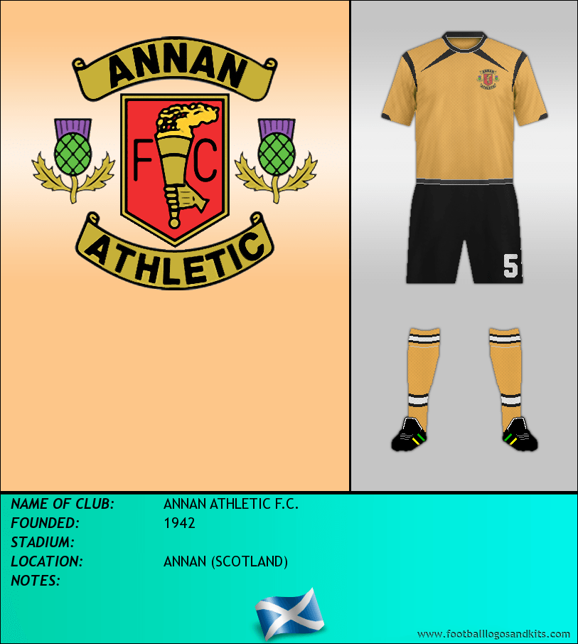 Logo of ANNAN ATHLETIC F.C.