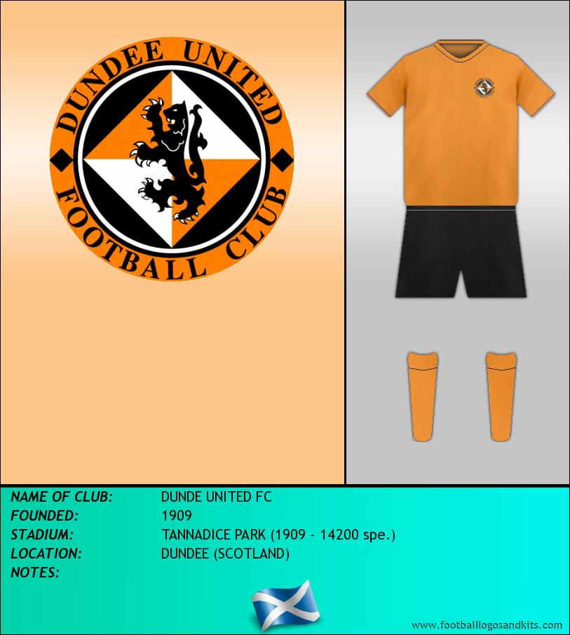 Logo of DUNDE UNITED FC