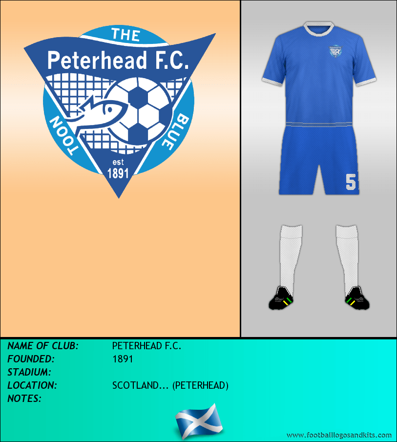 Logo of PETERHEAD F.C.