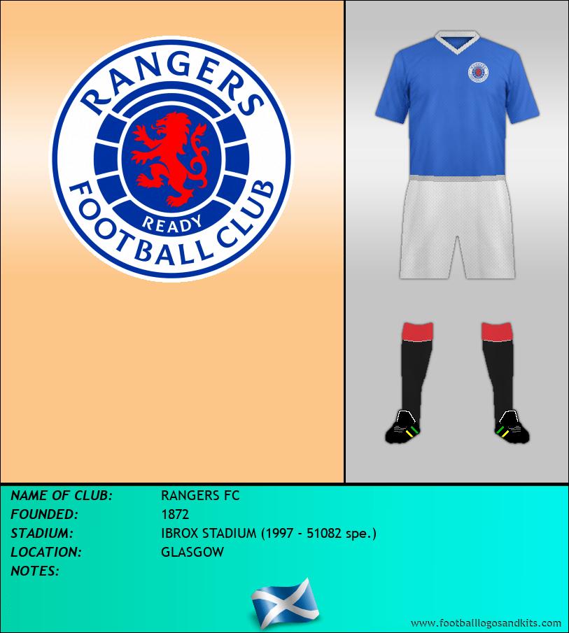 Logo of RANGERS FC