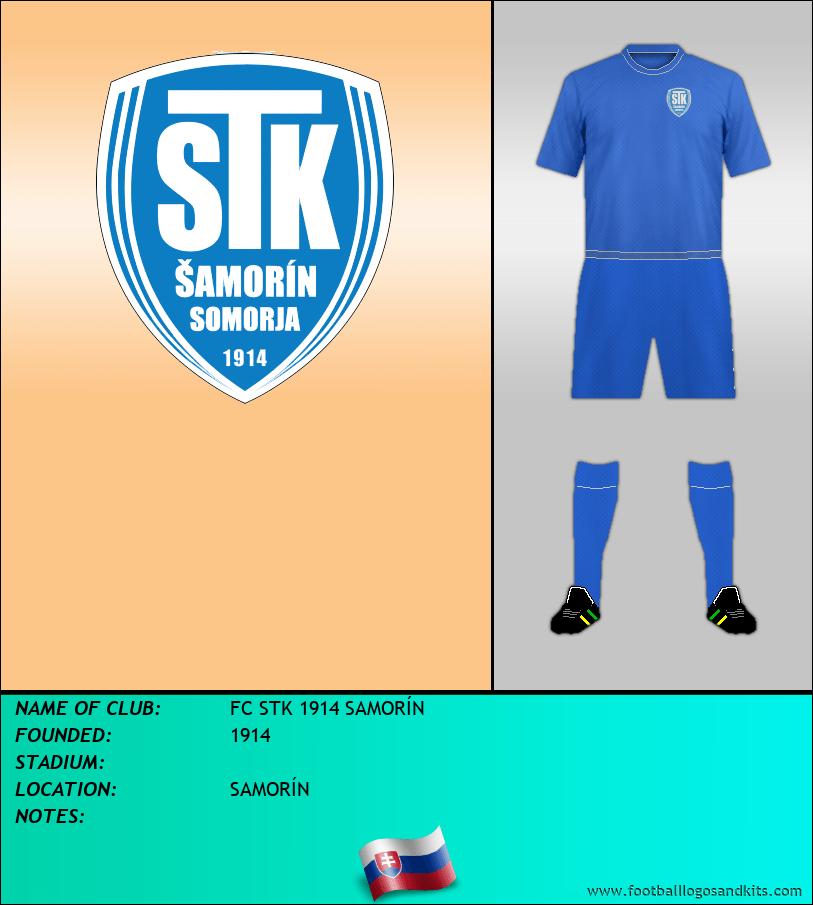 Logo of FC STK 1914 SAMORÍN