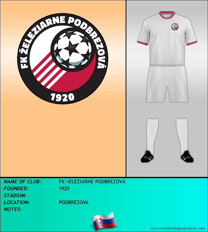 Logo of FK ŽELEZIARNE PODBREZOVÁ