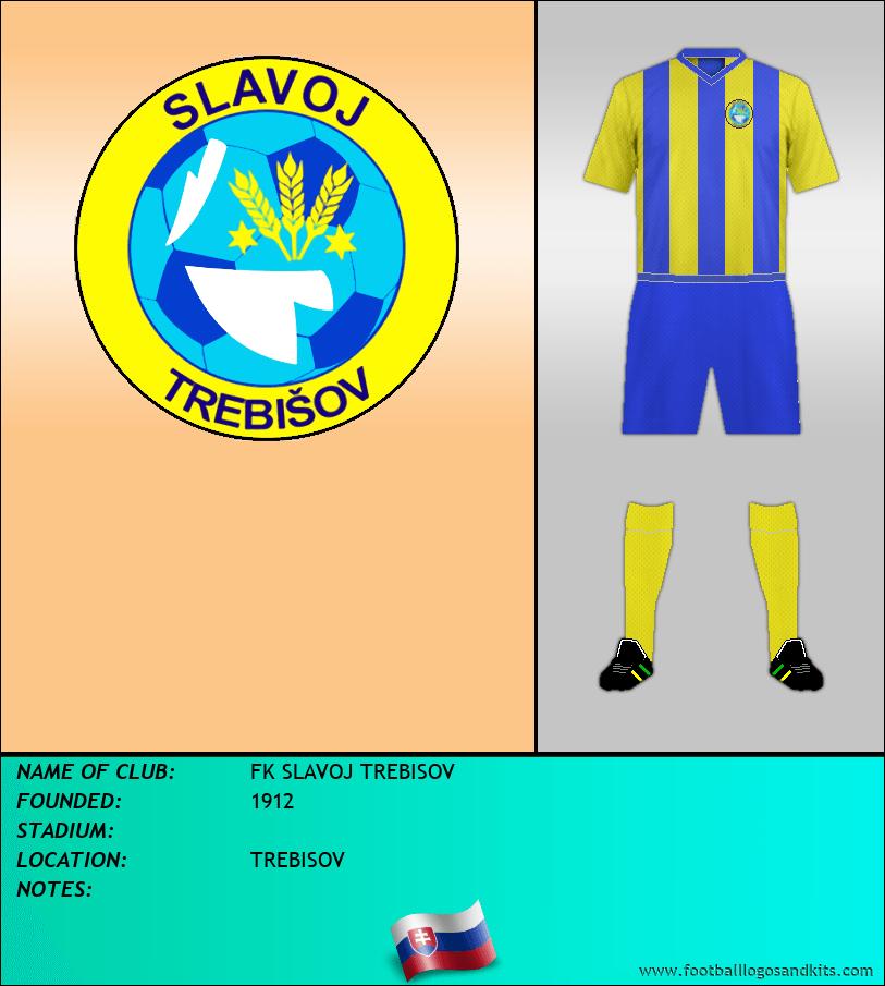 Logo of FK SLAVOJ TREBISOV