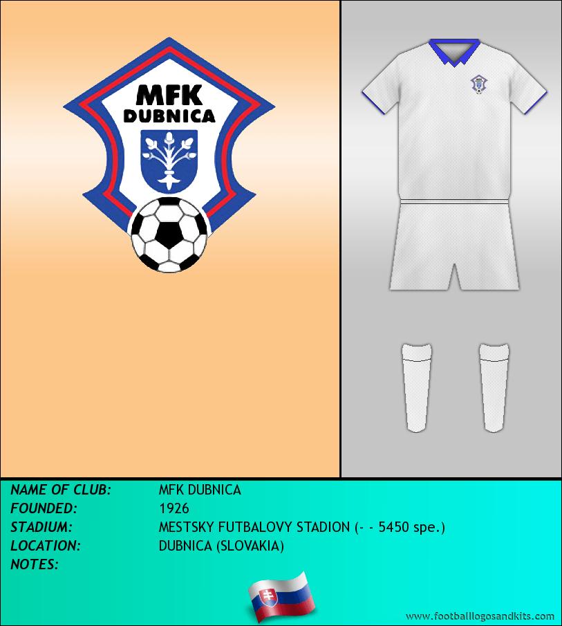 Logo of MFK DUBNICA