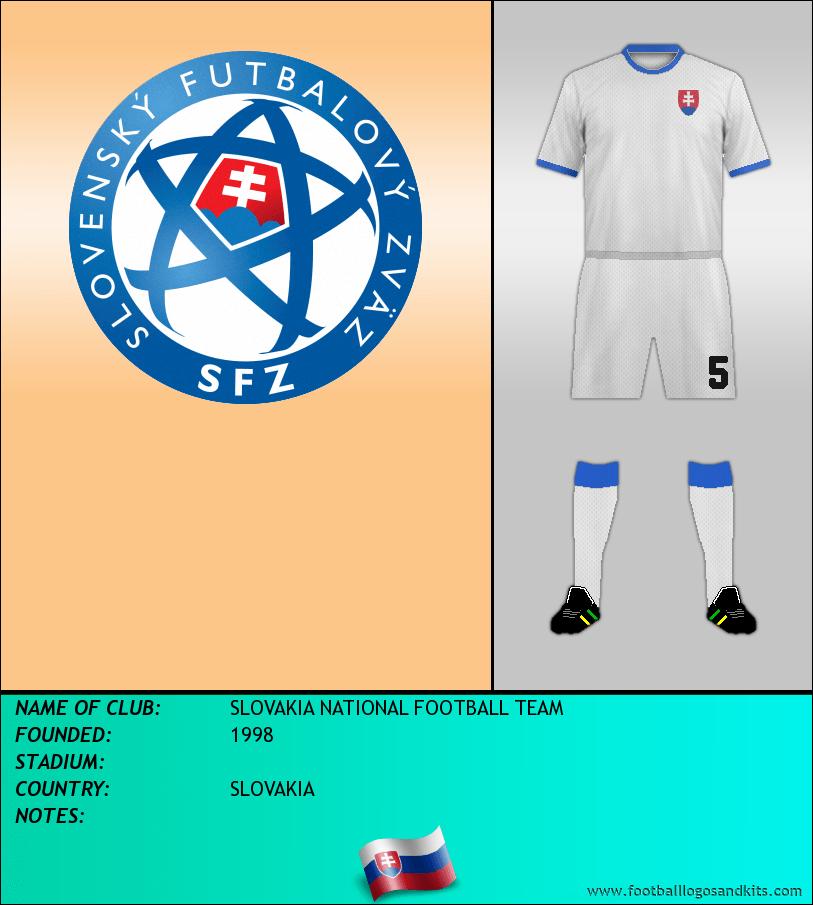 Logo of SLOVAKIA NATIONAL FOOTBALL TEAM
