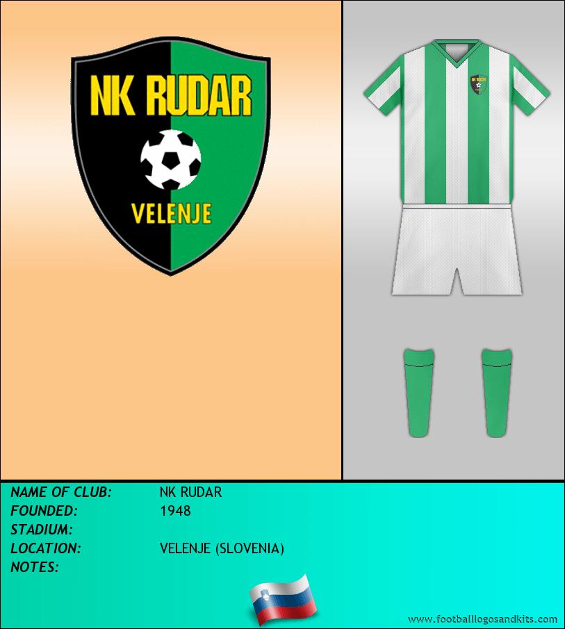 Logo of NK RUDAR