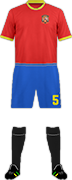 Kit SPAIN NATIONAL FOOTBALL TEAM