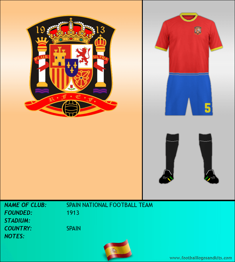 Logo of SPAIN NATIONAL FOOTBALL TEAM