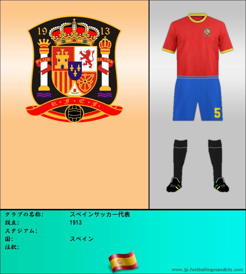 のロゴスペイン サッカー代表