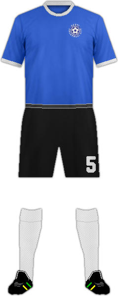 Kit ESTONIA NATIONAL FOOTBALL TEAM